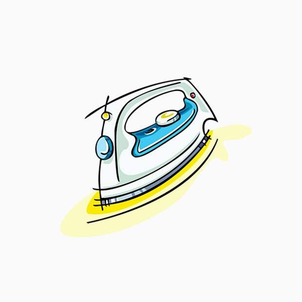 Ошибка № 6: гладить вещи вместо того, чтобы их отпаривать