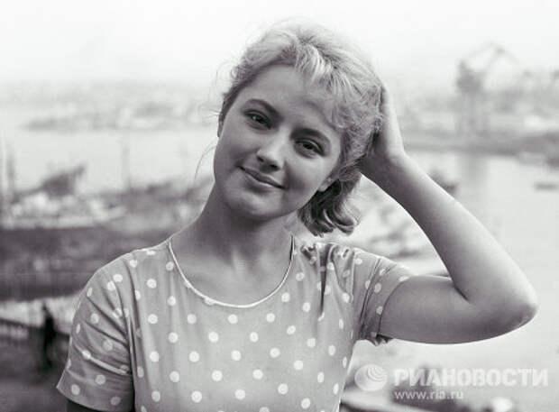 Самые прекрасные советские актрисы: Ариадна Шенгелая