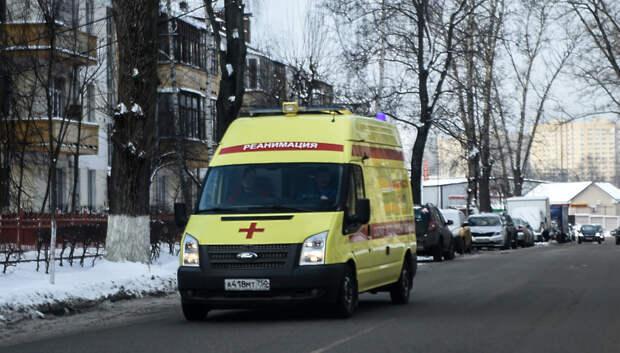 Мужчина получил ожоги в результате пожара в частном доме в СНТ Подольска
