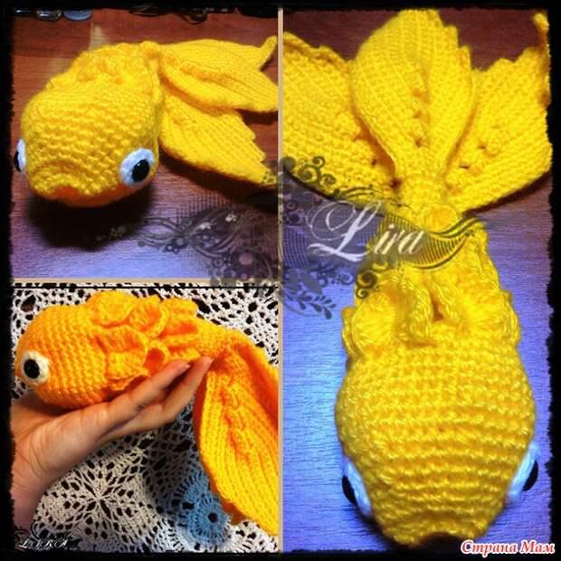 Исполни желание, рыбка! (МК Вуалехвост)