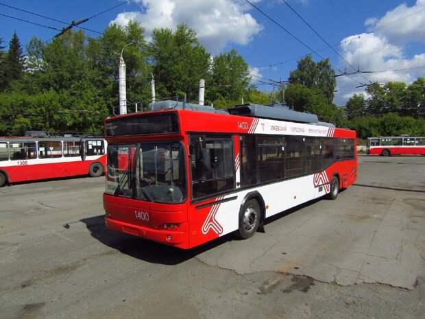 В Ижевске началась обкатка троллейбусов из Москвы