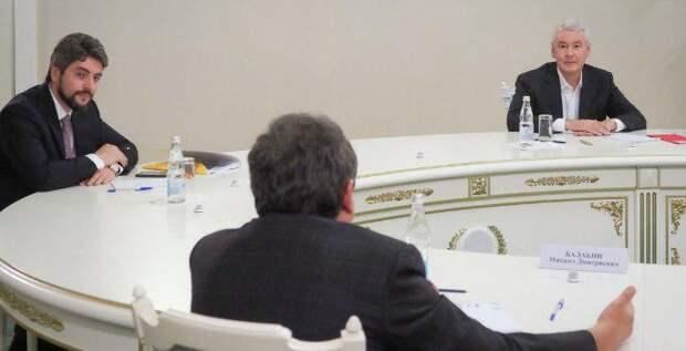 Собянин обсудил дальнейшее развитие города со всеми кандидатами в мэры/Фото: mos.ru