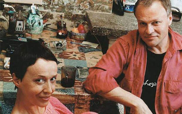 Александр Соловьев с третьей женой Ириной Печерниковой