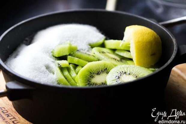 Варенье из киви с лимоном