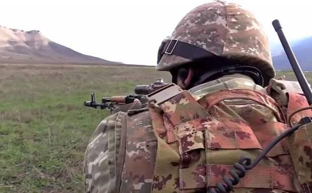 Первое боестолкновение после перемирия произошло в Карабахе