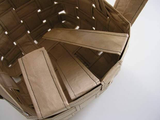 Бумажная корзина своими руками