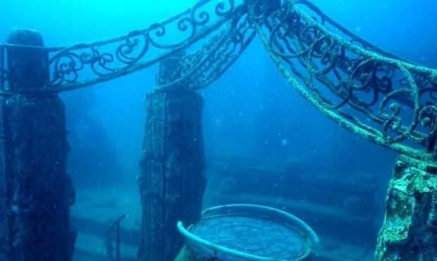 Археологи обнаружили древний город под водой