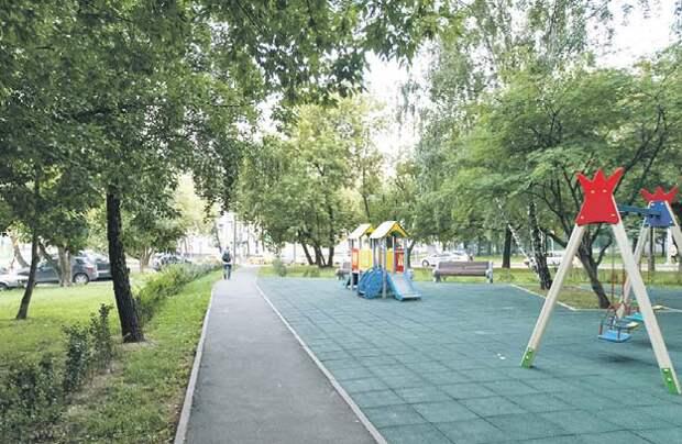 После обрезки деревьев территорию тщательно убрали/ Роман Балаев