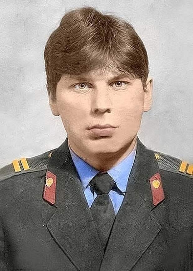 Николай Митрофанович Клинских о службе сына в милиции