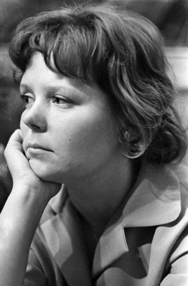 Киноактриса Роза Макагонова. 1962 г.