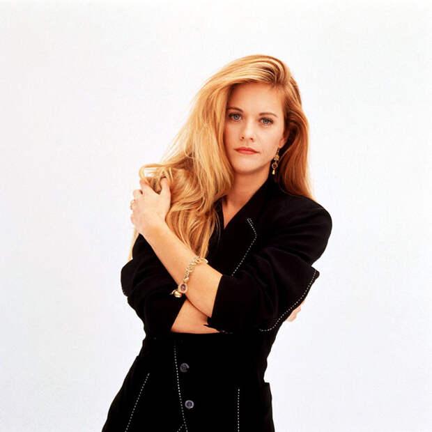 Мег Райан (Meg Ryan) в фотосессии Деборы Файнголд (Deborah Feingold) (октябрь 1991), фото 2