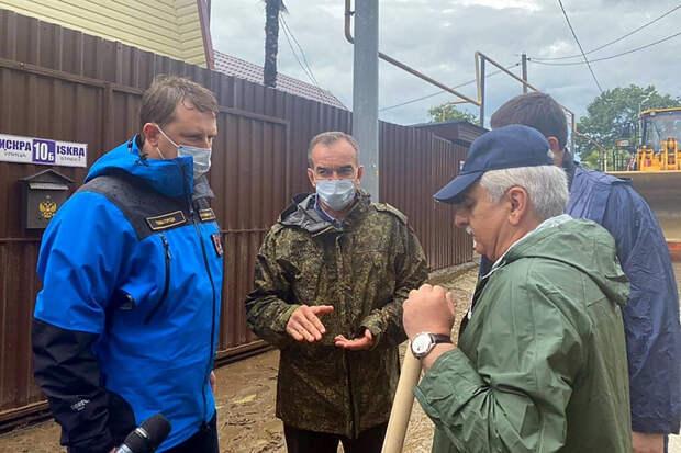 Глава Кубани поручил подготовить в Сочи пункты для эвакуации людей