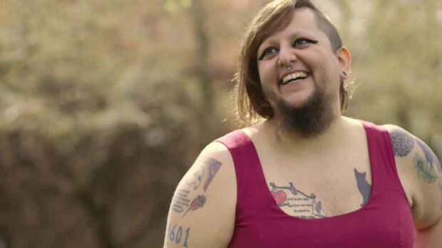Бородатая девушка нашла себе «вторую половину» в соцсетях