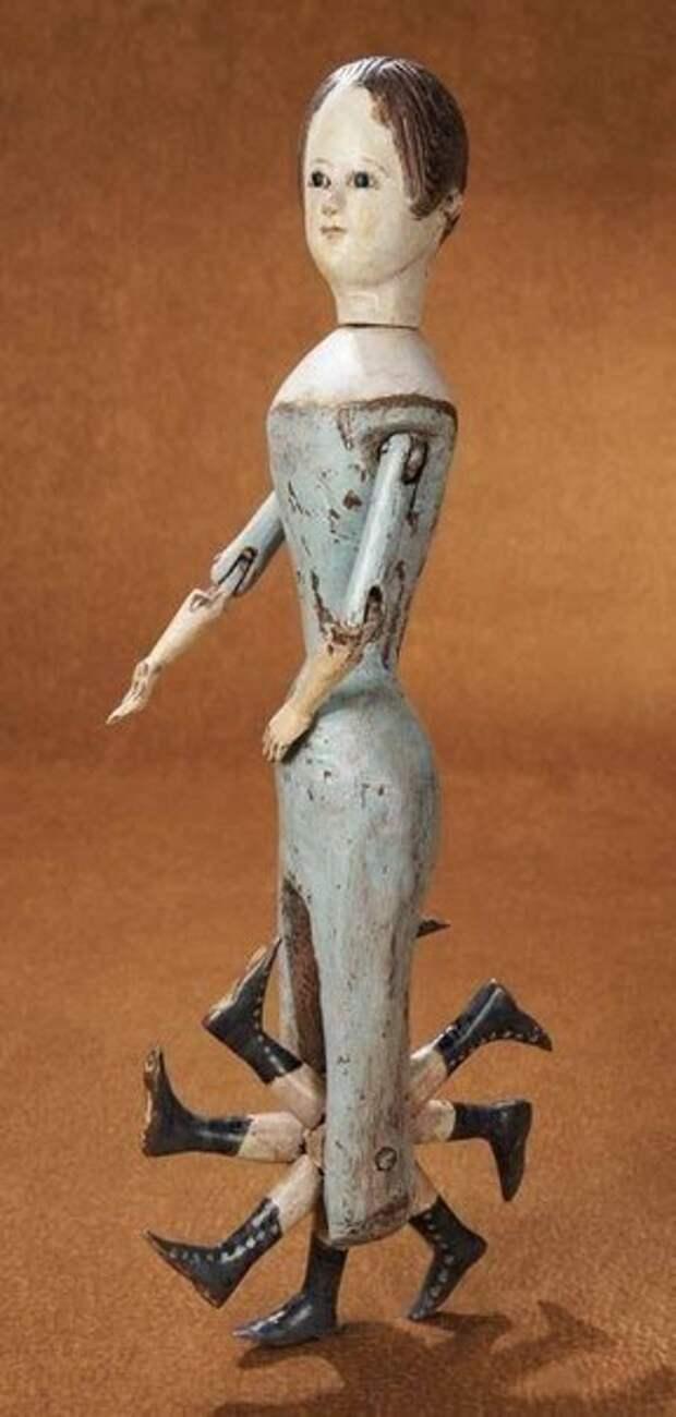Восьминогая кукла, XIX век
