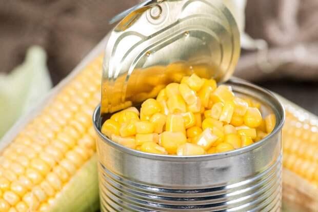 На Кубани заводы края произвели рекордный объем консервированной кукурузы