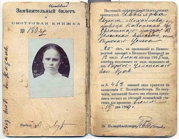 Куртизанки в царской России