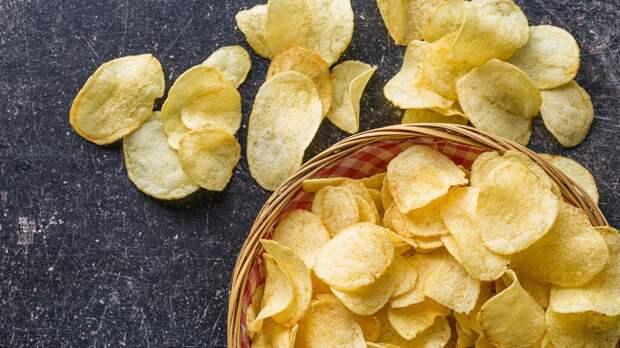 Как приготовить чипсы в микроволновке. Рецепт