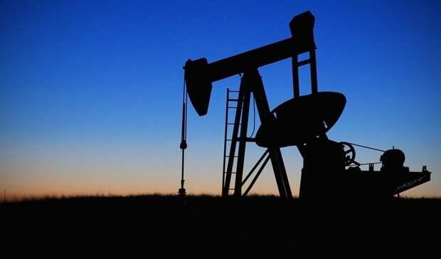 Нефть упала вцене