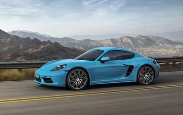 Porsche Cayman разгоняет «улитки»