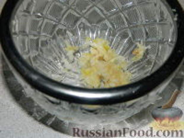 Фото приготовления рецепта: Лангош - венгерская лепешка - шаг №4