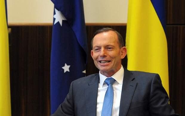 СМИ заподозрили экс-премьера Австралии в фетише к флагу Украины