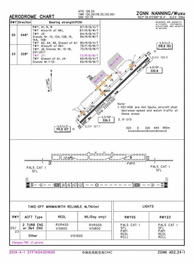 Очередная посадка на рулежную дорожку. Airbus A320-200. Китай.
