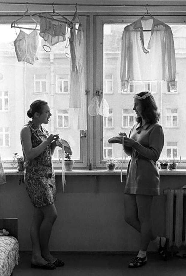 6. девушки, интересно, ностальгия, общежития ссср, студенчество, фото