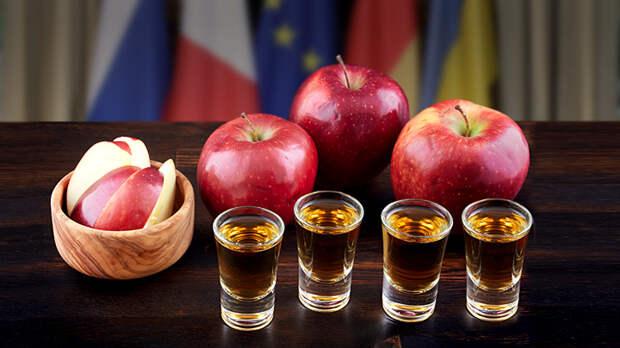 Нормандский «коктейль»: Горилка, водка, шнапс и кальвадос