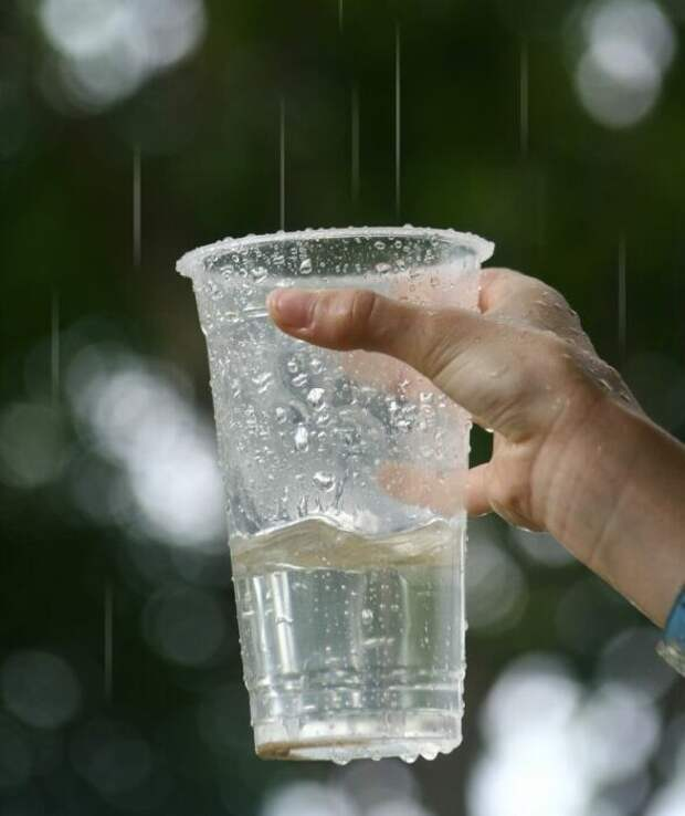 дождевую воду пить нельзя! Можно мыться ею на пленэре. / Фото: yandex.ru