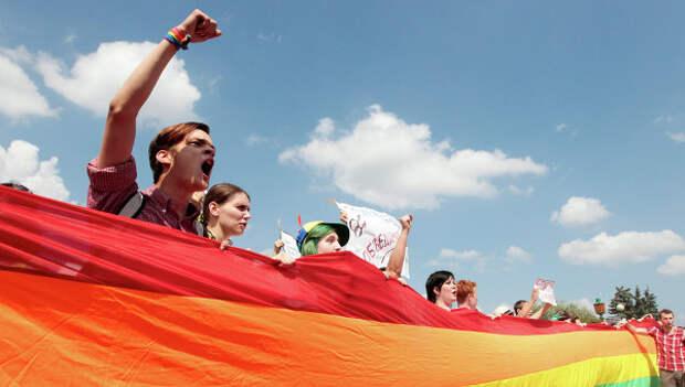 ЛГБТ-сообщества. Архивное фото