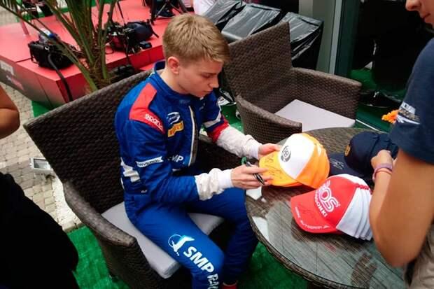 Россиянин Роберт Шварцман досрочно стал чемпионом «Формулы-3» текущего сезона