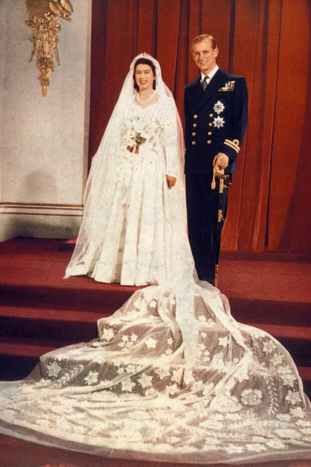 Свадьба принца Филиппа и Елизаветы II,