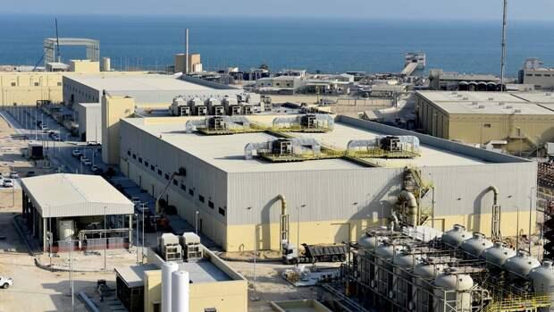 Завод по очистке и опреснению воды Аль-Хобар