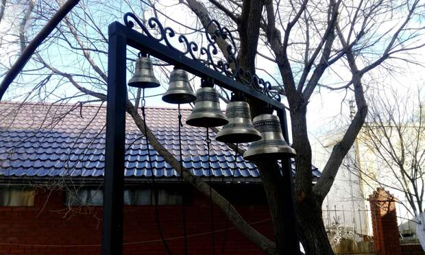 Журналисты «Сусанина» позвонили в колокола в Свято-Никольском храме Ижевска
