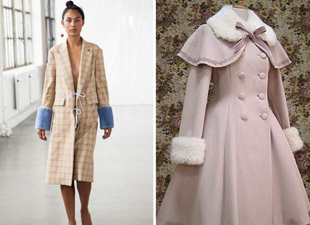 10 идей как удлинить рукава пальто + мастер-класс по фальшивой подгибке