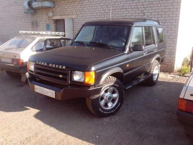 Восстановление старого Land Rover Discovery 2