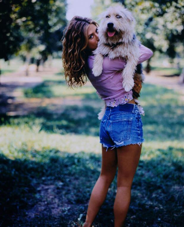Дженнифер Энистон (Jennifer Aniston) в фотосессии Марка Селиджера (Mark Seliger) для журнала US Weekly (1998), фото 6