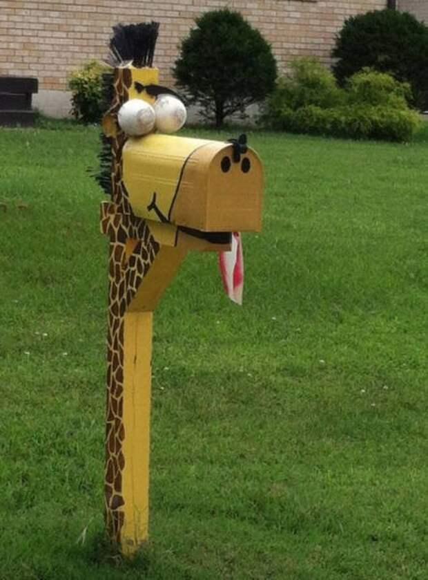 Необычные и прикольные почтовые ящики (21 фото)