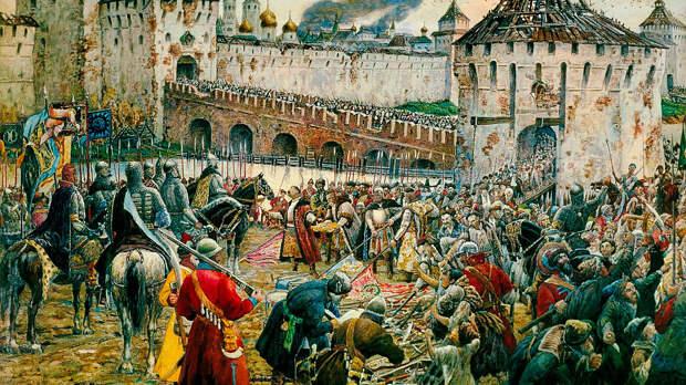 Как Польша чуть не захватила Россию и не стала империей