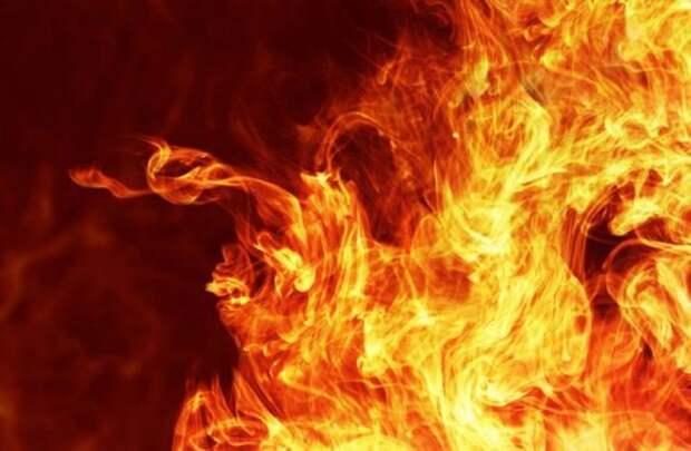 В Крыму огонь «съел» украинскую колбасу