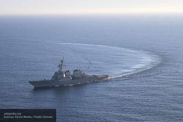 Sohu: маневр России заставил бежать корабли США на подходе к Босфору