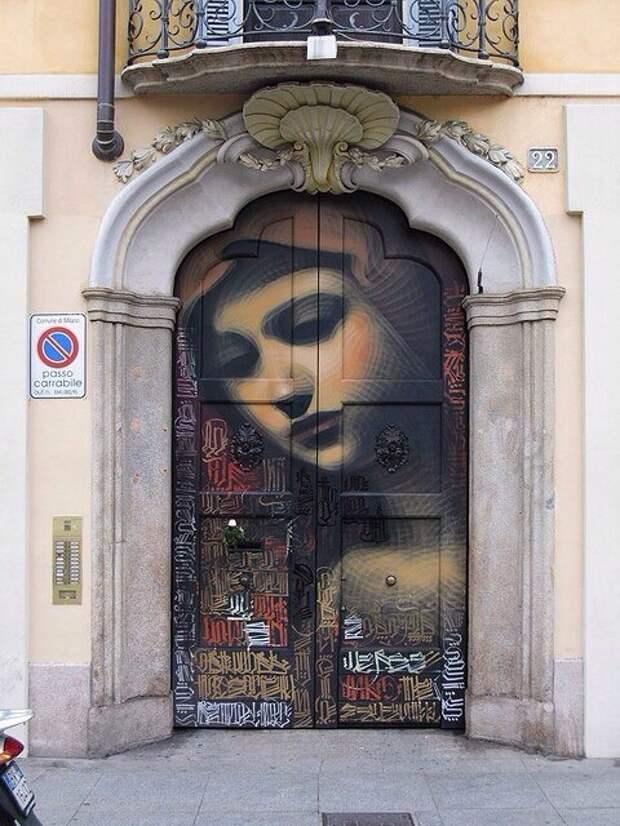 Стрит арт на уровне искусства