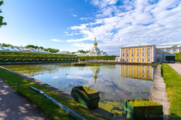 Величественный Верхний сад Петергофа будет отреставрирован к 2024 году