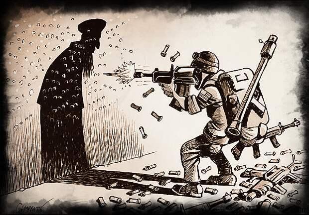 Бегство США из Афгана: очередной относительно честнй способ продажи военной техники населению