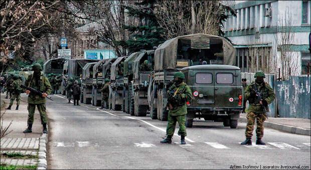 О том, как НАТО выгонит Путина из Крыма