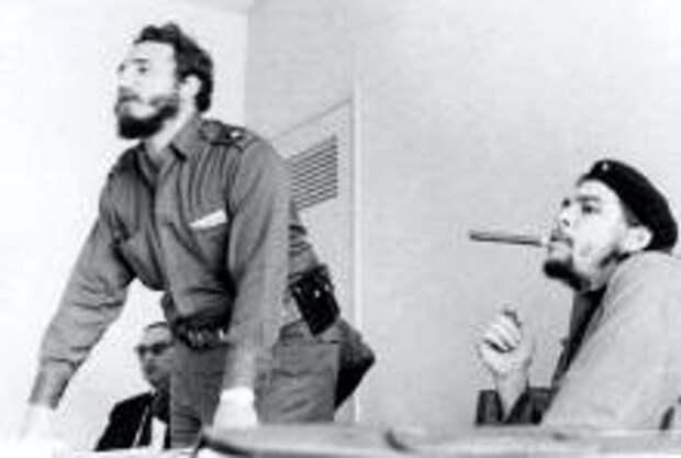 Фото: Фидель Кастро и Че Гевара