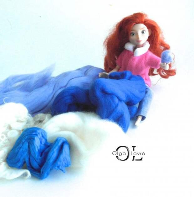 Делаем красивый дом и мебель для кукол Барби