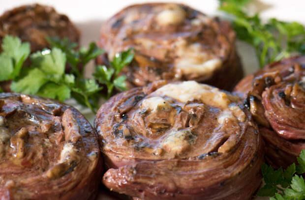 Лучшие начинки для мясных рулетов из фланк стейка