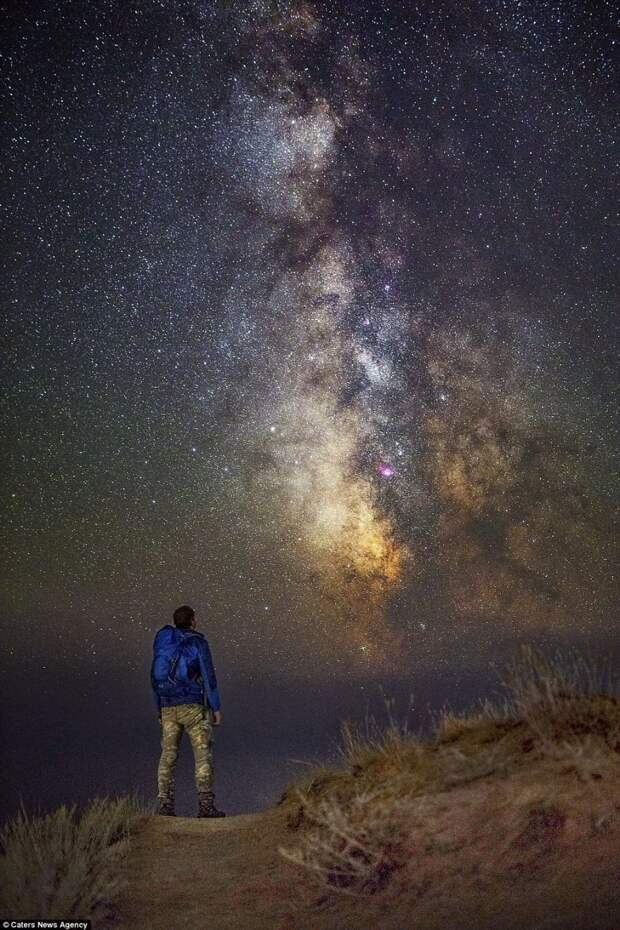 Таким Вы его еще не видели - Млечный путь