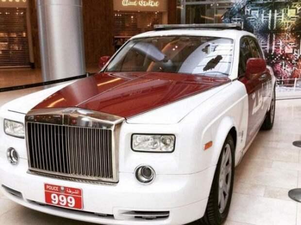Полиция Абу-Даби приобрела Rolls-Royce Phantom